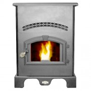 US Stove - 5500M Pellet Stove - 2,200 Sq. Ft.