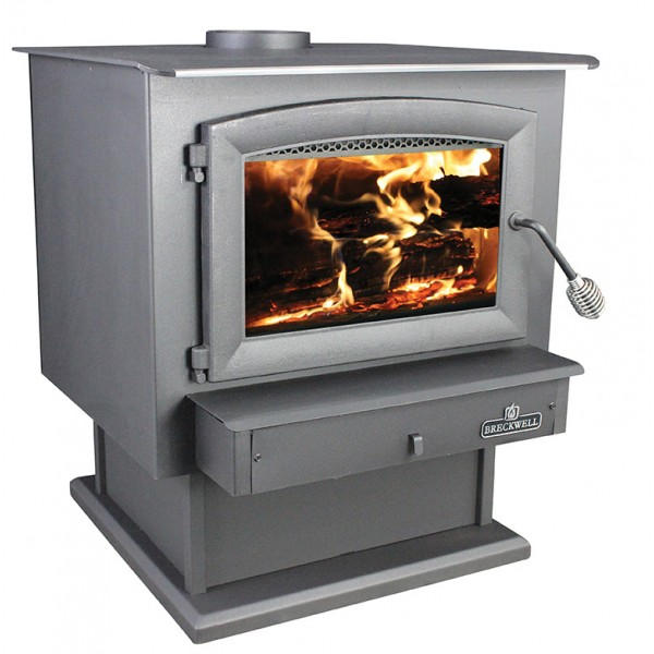 Breckwell - SW740P Wood Stove on Pedestal