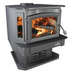 Breckwell - SW940P Wood Stove on Pedestal