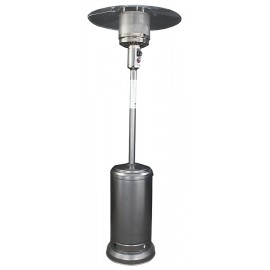 Mushroom Style Antique Silver Patio Heater