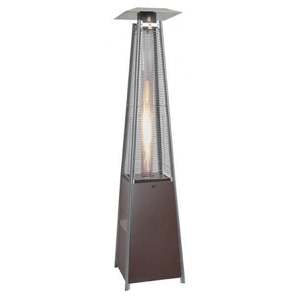 Square Pyramid Mocha Patio Heater
