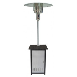 Wicker Stand Stainless Steel Door Patio Heater