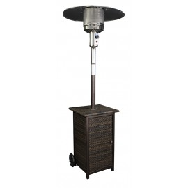 Wicker Stand Patio Heater